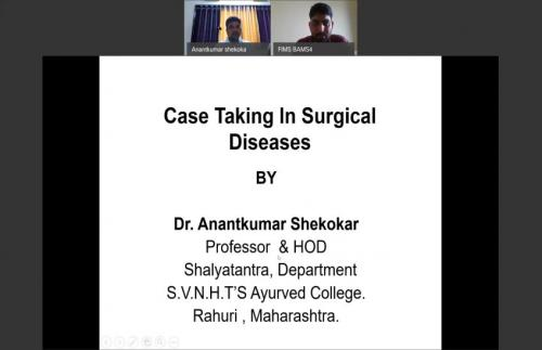 Case taking in Surgical Diseases