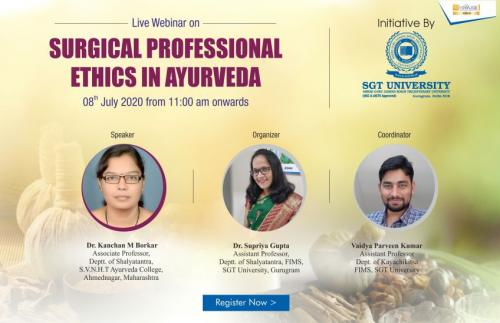 Surgical Professional Ethics in Ayurveda
